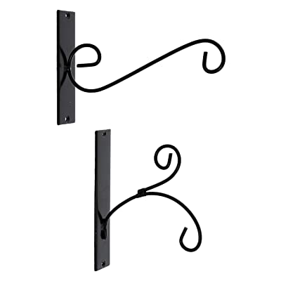 PierSurplus Metal Hook for Wall Outdoor Hanging Decorative Iron Small, Set of Two, for Lanterns,Feeders,Planters,Chimes,Ornaments Product SKU: HD221825: Home & Kitchen