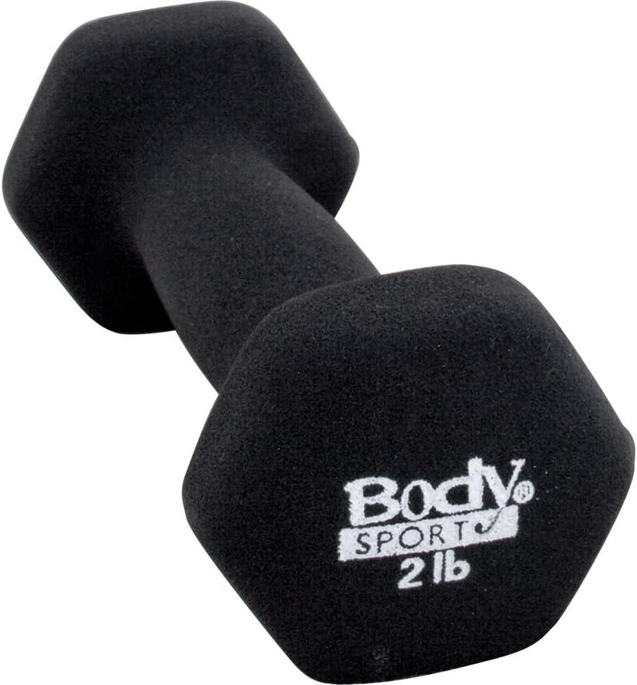Body Sport Neoprene Dumbbell Charcoal Color