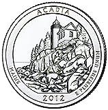 2012 D Acadia National Park Quarter Choice Uncirculated