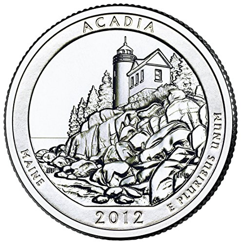 2012 P Acadia National Park Quarter Choice Uncirculated