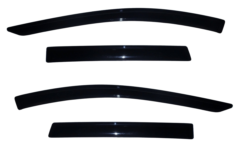 Auto Ventshade 94383 Original Ventvisor Side Window Deflector Dark Smoke, 4-Piece Set for 2013-2018 Ford Escape by Auto Ventshade