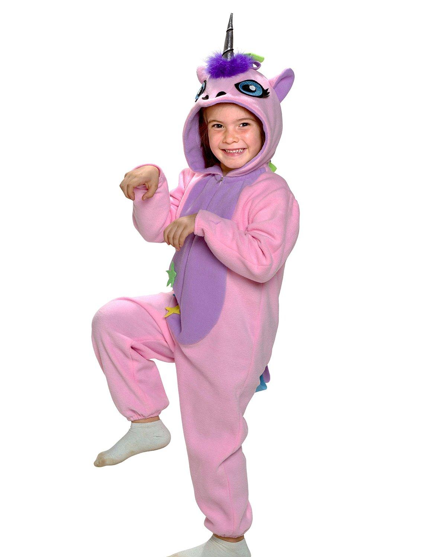 Disfraz de Unicornio Infantil para Niñas (Talla 3 - 5 Años, Morado ...