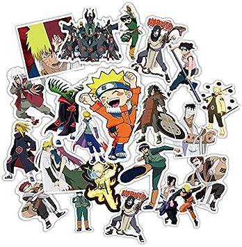 TUDUDU 49 Unids/Pack Mixto Japón Anime Naruto Pegatina para Coche ...
