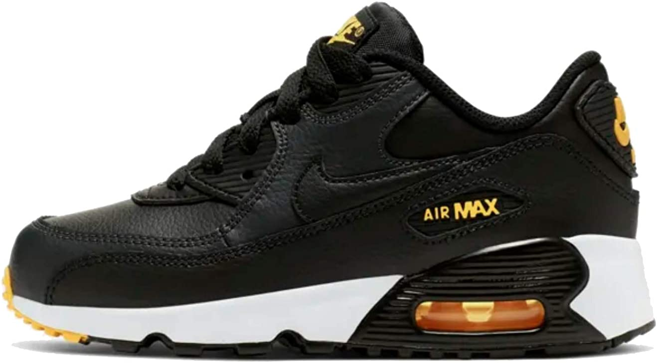 Nike Air Max 90 Leather Black/Amarillo