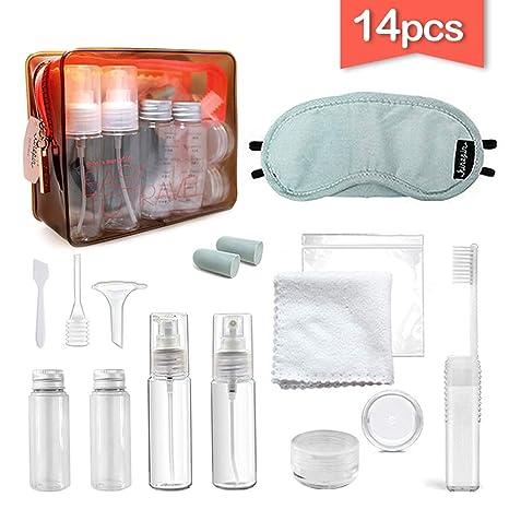 HuLuBB Travel Bottles Set 14 Piezas Air Portable Unique ...