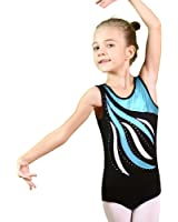Toddler Girls Gymnastics Leotards One-Piece 3-12 Years Practice Outfit