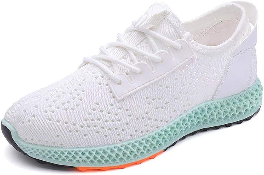 Zapatillas Deportivas de Mujer,ZARLLE Zapatillas Planas,Zapatos para Correr Athletic Cordones Air de Moda Beathable Zapatos de Malla Zapatos Casuales sin Cordones: Amazon.es: Ropa y accesorios