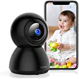 Victure 1080P Wi-Fi Camera, Wireless Home Security Camera Indoor, Sound Detection, Motion Tracking, Motion Detection…