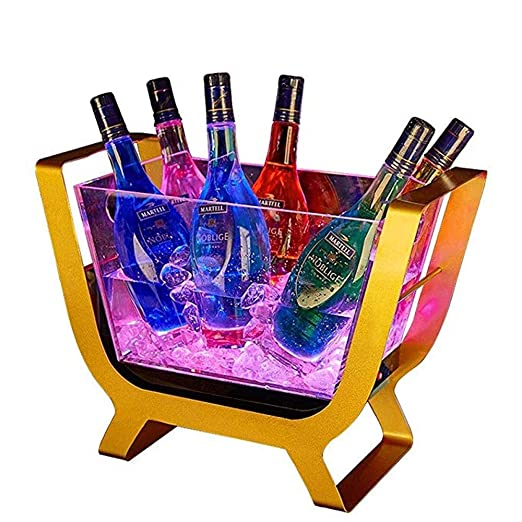 Compra JJSFJH Bartender Wine Cerveza Luminosa Botella de Vino para ...