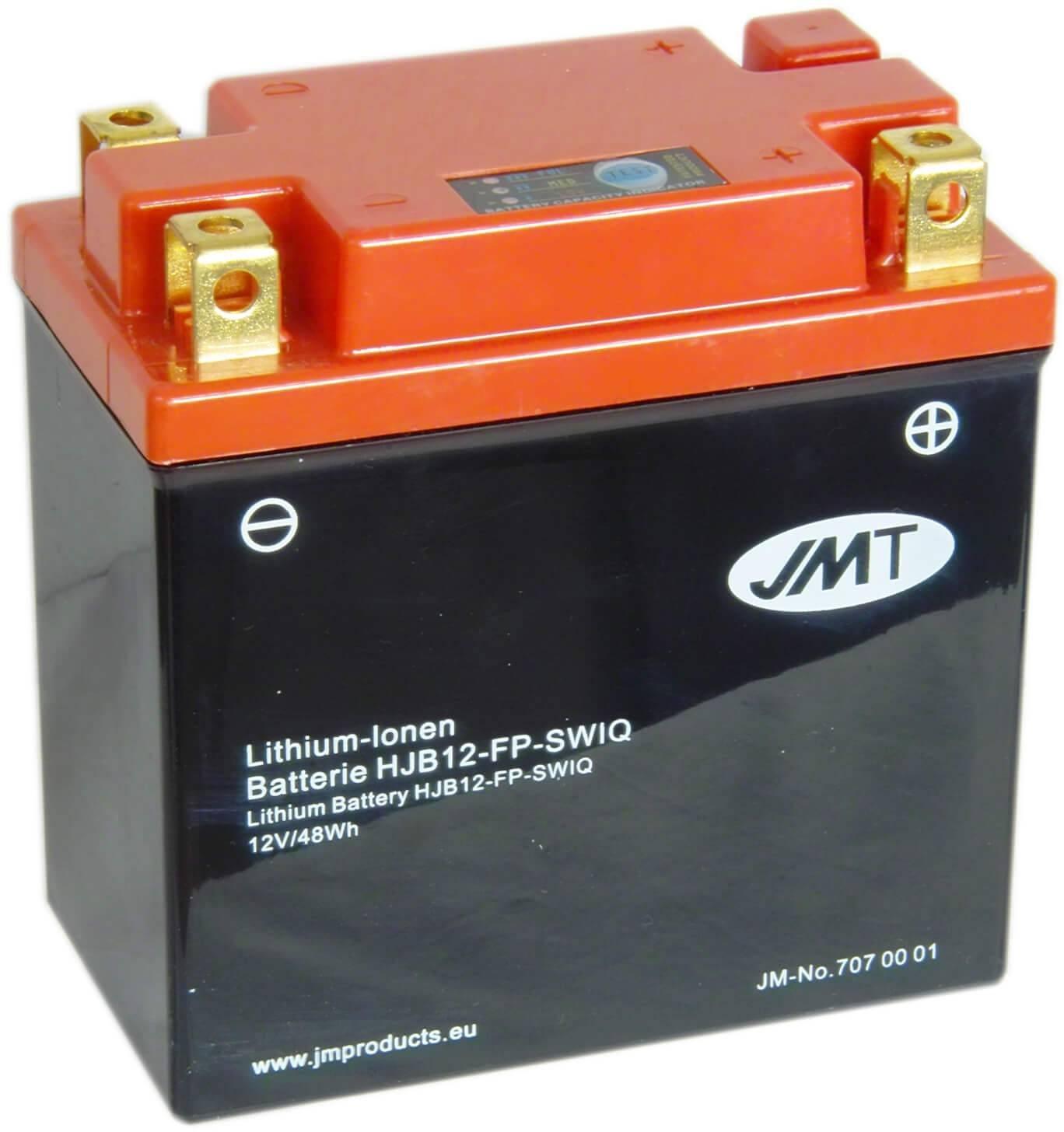 Batterie Lithium Yamaha XV 535 H Virago JMT HJB12-FP 12V 12Ah