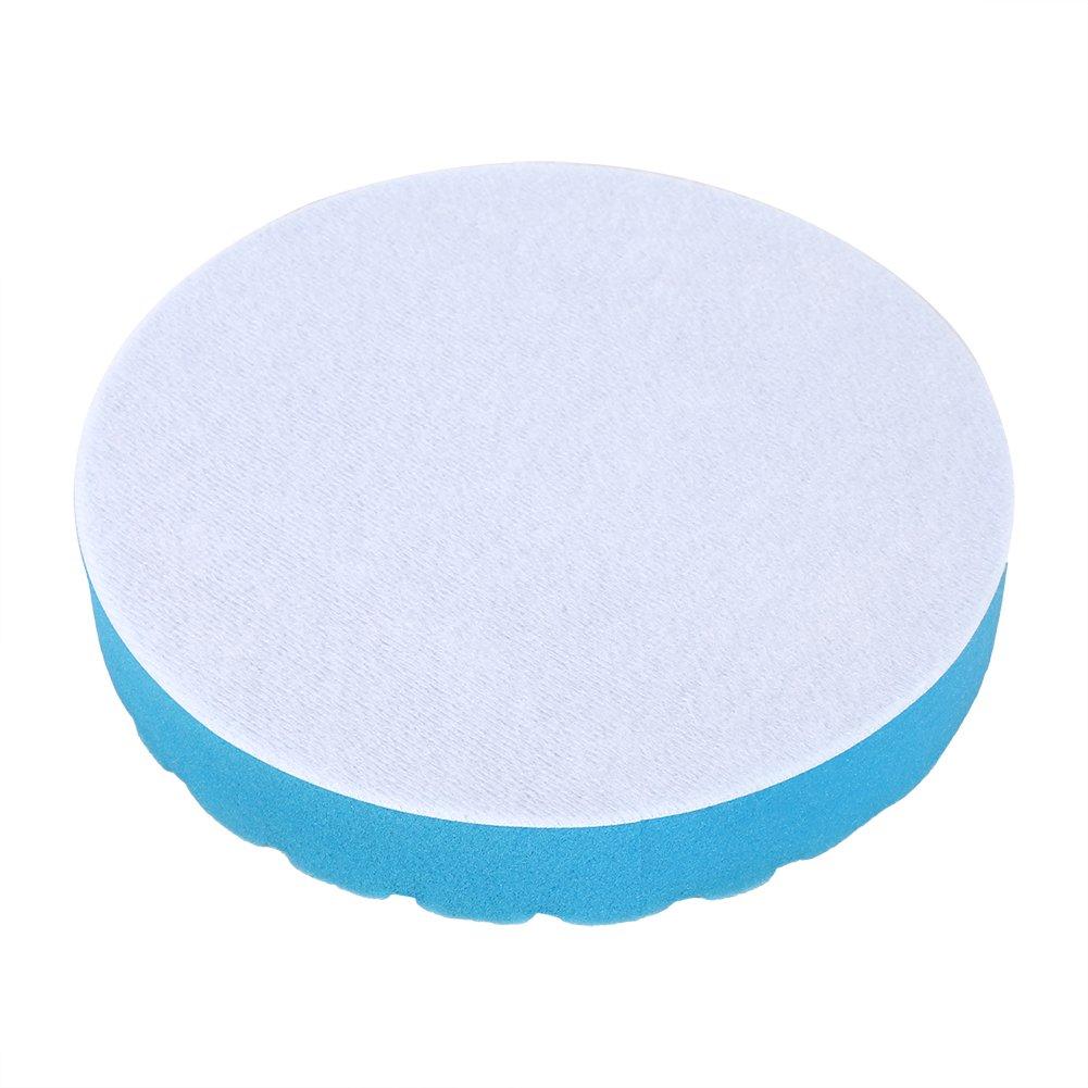 Qiilu 5 pzc 3//4//5//6//7 Pulgadas Kit de Herramientas de Mano Almohadilla de Pulido Esponja de Pulido para Cera de pulidor Coche 7