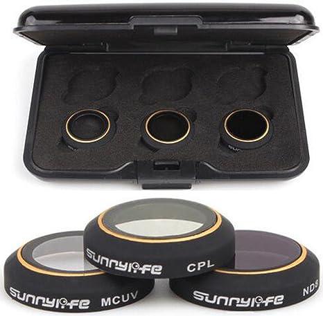 NEWZCERS Kit de filtros para lentes de cámara Accesorios 3-pack ...