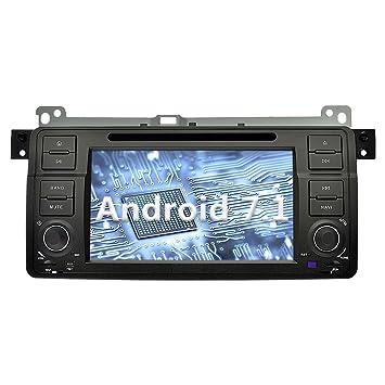 YINUO 7 Pulgadas 1 Din Android 7.1.1 Nougat 2GB RAM Quad Core Pantalla Táctil