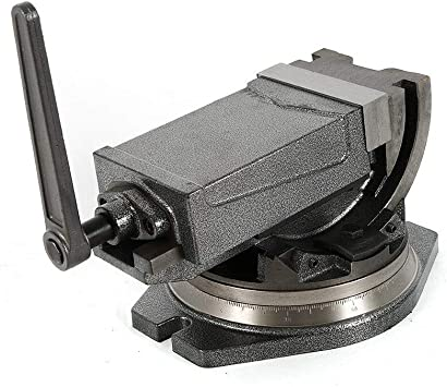 "5/"" Swivel Base /& Angle Tilting 2 Way Clamp Vise Precision Milling CNC Vise Tool"