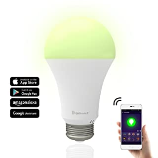 Smart Bulb,DQiDianZ Large Wattage 10W WiFi LED Smart Light Bulb Works with Google Home and Amazon Alexa iOS/Android APP