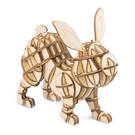 Yc Doll 3d Puzzle Jigsaw Puzzle Animali Fai Da Te In Legno Classico
