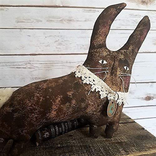 Buy plush primitive easter bunny