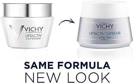 Vichy Liftactiv Supreme - cremas de día (Piel mixta, Piel normal, Anti-edad, Anti-arrugas, Firming, Suavizar, Cazuela)
