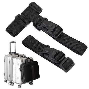 Amazon.com: Agregar una bolsa correa de equipaje Enlace ...