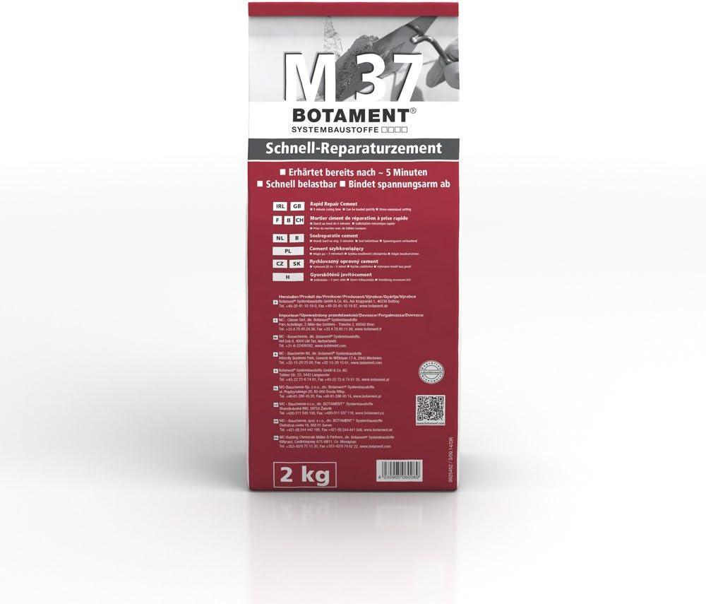 Botament M 37 Schnellreparatur-Zement 2 Kg