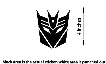 White background Ocean Autobot Logo decals