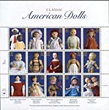 Classic American Dolls Collectible Stamp 32 Cent Sheet - Scott 3151