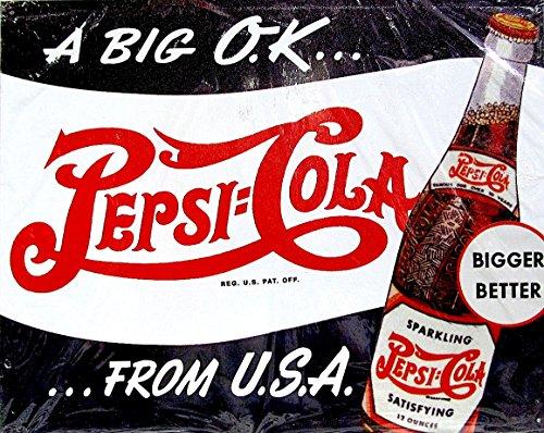 Metal tin sign 8x10 from photos pepsi cola tin sign 1950 - Quitar oxido coca cola ...
