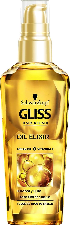 Gliss - Oil Elixir Diario - Aceite Capilar Nutrición y Brillo - 3 uds de 75ml - Schwarzkopf