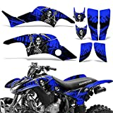 honda 400 ex stickers - Honda TRX400EX 1999-2007 Graphic Kit ATV Quad Decal Sticker Wrap TRX 400 EX REAPER BLUE