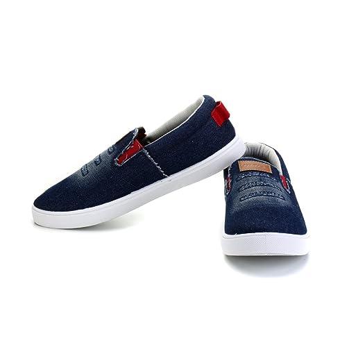 Buy Sparx Men's SM310 Canvas Shoes (Sky