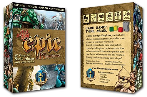 Ultra-Tiny Epic Kingdoms Pocket Board Game by Gamelyn Games