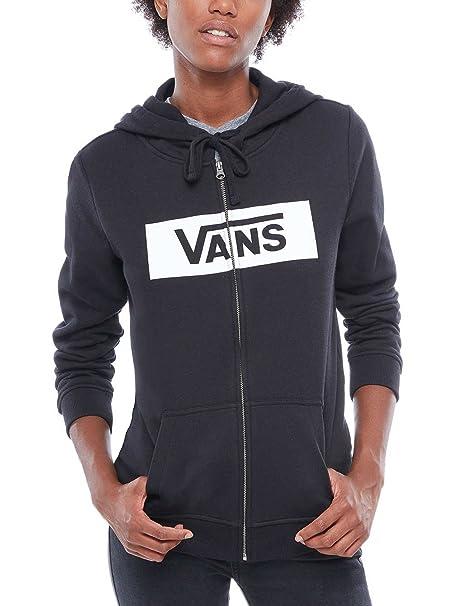 Vans Open Road Zip Hoodie Chaqueta con capucha Mujer Negro ...