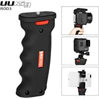 UURig R003 Universal Handheld Pistol Grip Camera Handle Grip Mount Holder Selfie Stick for iPhone X GoPro Hero 6/5 DSLR Cameras