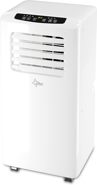 Aire acondicionado local móvil Impuls 2.0 Eco R290   Silencioso   Tubo para la evacuación del aire condensado   Enfriar habitacion hasta 25 m2   7.000 BTU/h   Clasific. energética A   SUNTEC WELLNESS