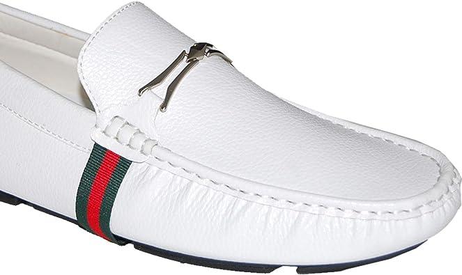 Krazy Shoe Artists White Loafer