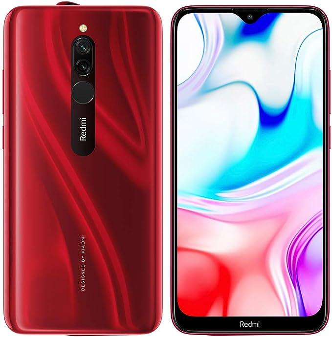 Xiaomi Redmi 8 64GB 4GB Rojo (Versión Española): Amazon.es: Electrónica