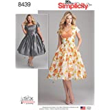 Simplicity Creative Patterns US8691H5 Sew Chic Misses Dresses