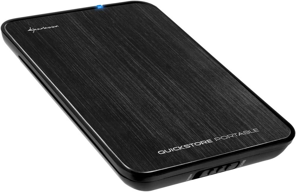 Sharkoon Quickstore Portable Usb 2 0 Gehäuse Für 2 5 Computer Zubehör