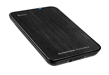 Sharkoon QuickStore Portable - Carcasa Externa de Disco Duro, USB ...