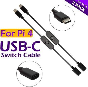 iUniker Raspberry Pi Power Switch, Raspberry Pi 4 Power Switch ...