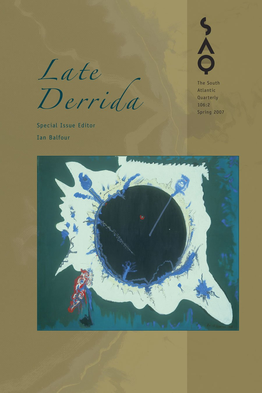 Download Late Derrida (The South Atlantic Quarterly) ebook