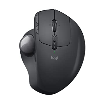 06fe23d4319 Logitech MX Ergo, Advanced Wireless Trackball and Bluetooth Mouse for PC,  Mac and Windows