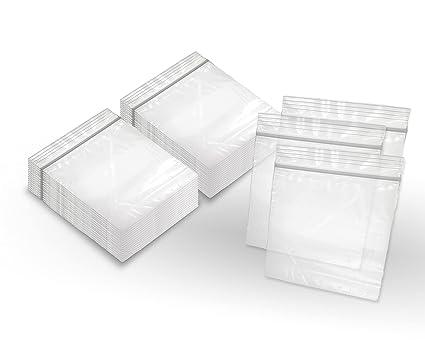 "100pcs 8x10/"" Plastic 2-Mil Resealable Recloseable Zip Lock Bags"