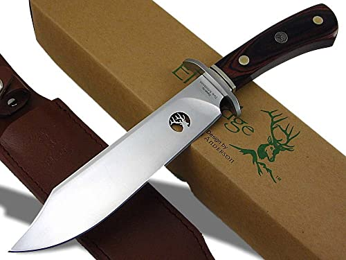 Elk Ridge TA-89 Fixed Blade Knife 11.75-Inch Overall Designed by Tom Anderson