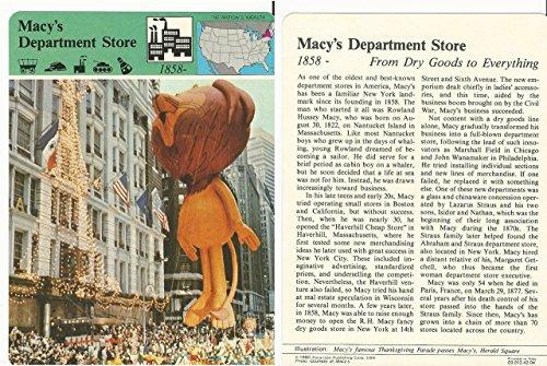 1979 Panarizon, Story Of America, #42.04 Macy's Department - Macy's America