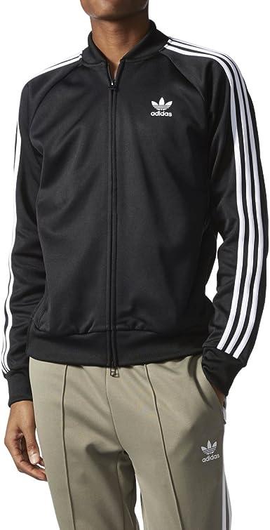 Pantaloni via torta  adidas Men Originals SST Relaxed Track Jacket #BK3612 at Amazon Men's  Clothing store