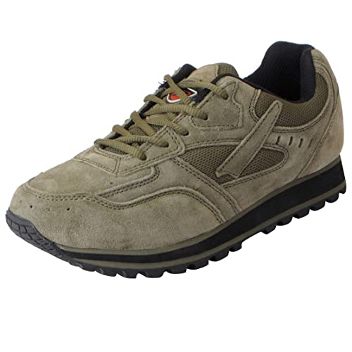 Suede Leather Sports Jogging Shoes