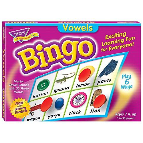 Vowels Bingo Game ()