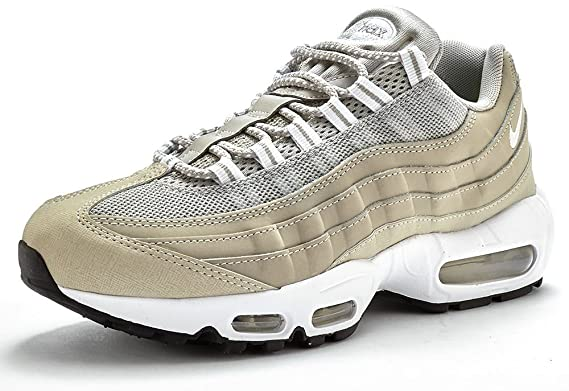 no sale tax skate shoes super cheap Nike Air Max 95 Trainers in Light Grey & White 609048 058 ...