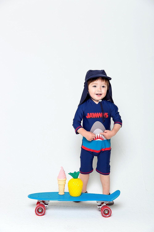 Vaenait baby 0-24M Infant /& Little Boys UPF 50 Protection Swimsuit Onepiece Rashguard Swimwear Sunsuit Quick Dry Jaws